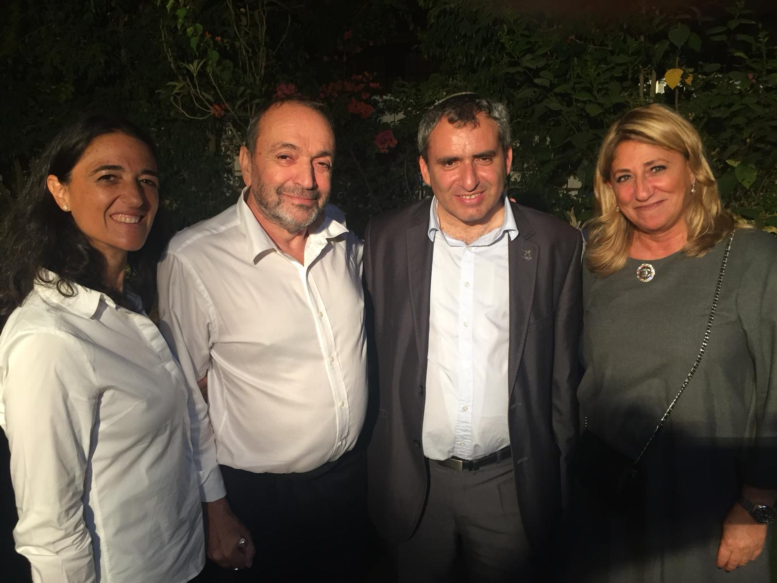Zeev Elkin et ses amis francophones